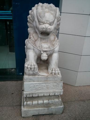 国贸中心狮子