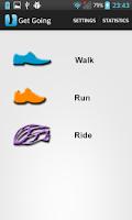 Screenshot of Get Going