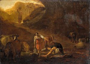 RIJKS: Pieter Bodding van Laer: painting 1637