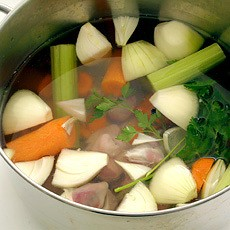 Turkey Giblet Stock