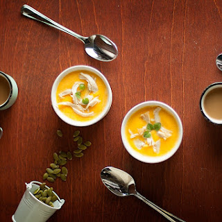 Curried Ginger Butternut Squash Soup