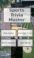 Screenshot of Sports Trivia Master Lite