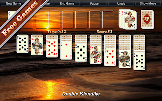 Screenshot of Solitaire City™