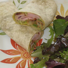 Chipotle Pork and Avocado Wrap
