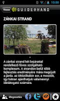 Screenshot of Nyitott Balaton GUIDE@HAND