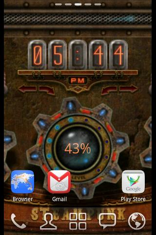 Steampunk Time Live Wallpaper