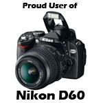 banner nikon d60