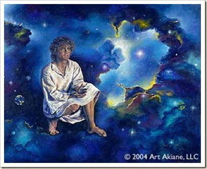 Jeshua the missing Years - painting by Akiane  Kramarik. © Copyright 2000-2008 Akiane Kramarik