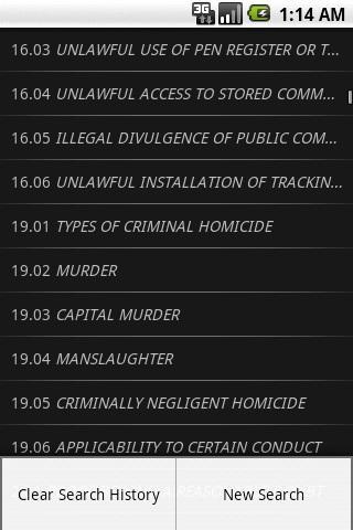 TXLaw - Penal Code - Criminal