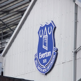 Everton - Goodison Park by Ross Davies - Sports & Fitness Soccer/Association football ( liverpool, fa premier league, stadium, everton, soccer )