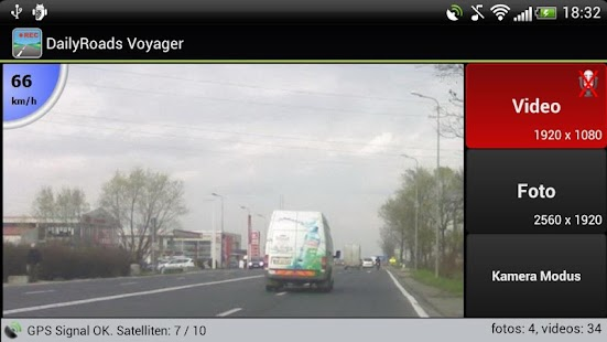 DailyRoads Voyager Screenshot