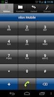 Screenshot of NFON Mobile