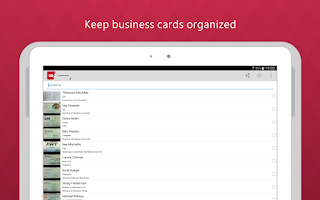 Screenshot of Business Card Reader Pro