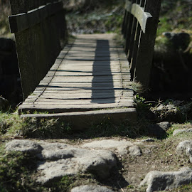 by Morgan Wood - Novices Only Objects & Still Life ( countryside, wooden, bridge, river crossing, rural )