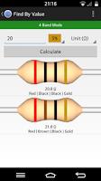 Screenshot of Resistor Tool