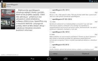 Screenshot of Digitálna knižnica