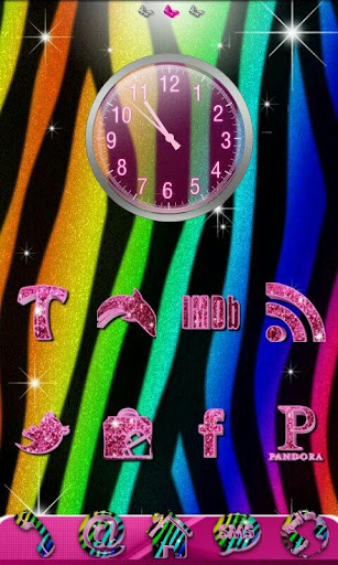 GO Theme Rainbow Zebra Theme