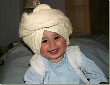 Gurtej Singh in turban