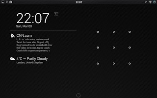 Screenshot of DashClock RSS Viewer Extension