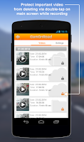 Screenshot of Car DVR & GPS navigator