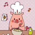 Cooking pig icon