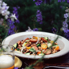 Andouille, Bean, and Tomato Salad