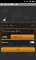 Screenshot of Zagel Auto-SMS