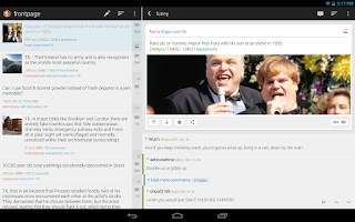 Screenshot of Flow for Reddit (Pre-Beta)