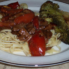 Herbed Beef and Tomatoes