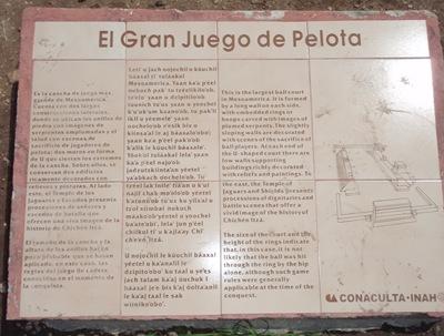 Se clicarem na foto podem vê-la em grande e ler a descrição do local. Para os linguistas recomendo a coluna central!
