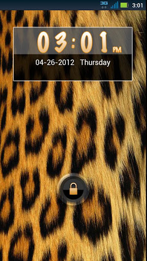 GO Locker Cheetah Theme