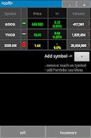 Screenshot of Stockchart - stock indicators