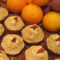 Candy'D Sweet Potato Cupcakes with Brown Sugar Icing