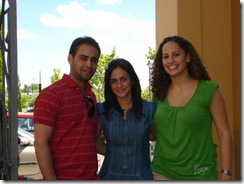 Higinio Jose, Carolina y Laura