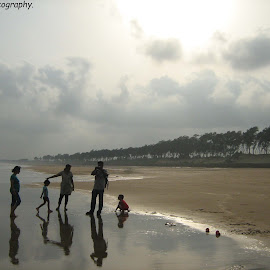 Reflection.... by Abhishek Kundu - Landscapes Beaches