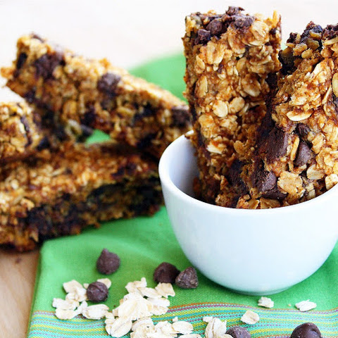 Pumpkin Chocolate Chip Granola Bars