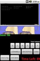 Screenshot of Scrambled