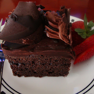 Triple-Chocolate Mousse Torte