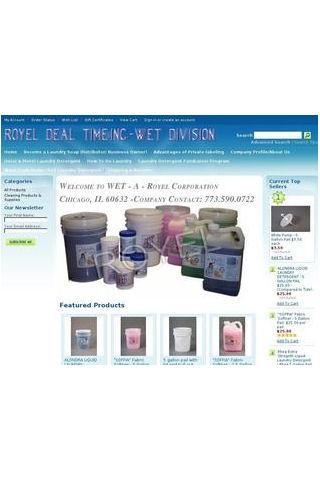 Buy Laundry Detergent - Royel