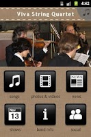 Screenshot of Viva String Quartet