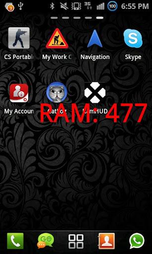 RamHUD - Display Free Ram