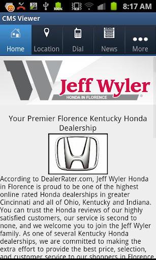 商業必備APP下載|Jeff Wyler Florence Honda 好玩app不花錢|綠色工廠好玩App