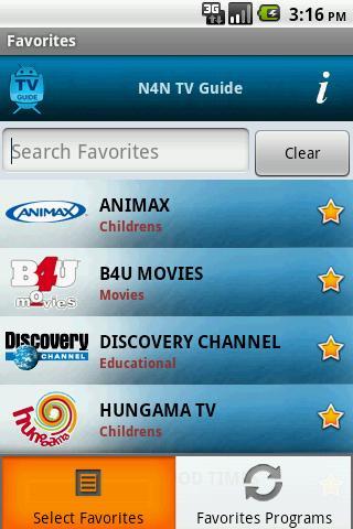 TV Guide India N4N
