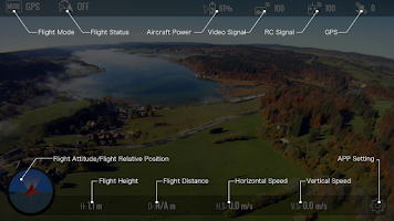 Screenshot of DJI Lightbridge