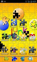 Screenshot of ADW Puzzle Pieces