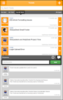 Screenshot of HelpDesk Mobile