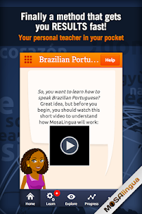 Learn Brazilian Portuguese- screenshot thumbnail