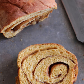 Bread Machine Cinnamon Swirl Pumpkin Bread