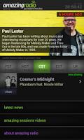 Screenshot of Amazing Radio