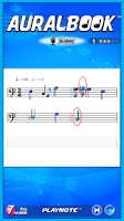 Screenshot of AURALBOOK for ABRSM Grade 7